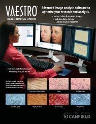 VAESTRO image analysis toolkit - Canfield Scientific Inc