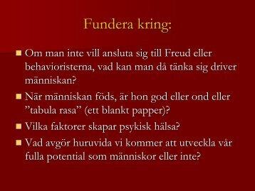 Nadja Ljunggren ppt Maslow(humanistiska)