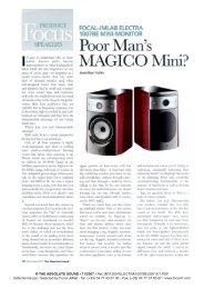 JMLab Focal Electra 1007Be at AllegroSound.com