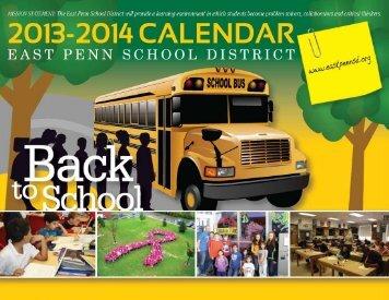 2013-14-EPSD-Activity-Calendar - East Penn School District