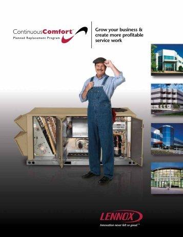 10 free magazines from lennoxcommercial com for Lennox program