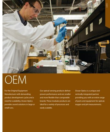 O E M For the Original Equipment Manufacturer with ... - NDN