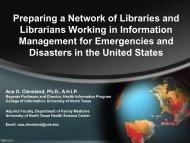 Presentation pdf format - Programa CRICS9