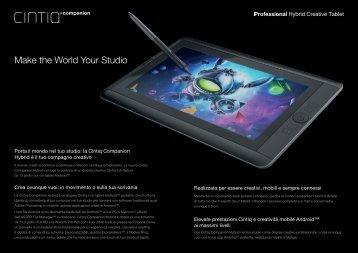 Make the World Your Studio