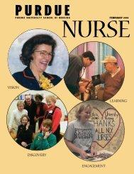 Purdue Nurse - February 2002 - School of Nursing - Purdue University