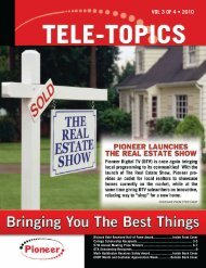 Tele-Topics - 2010 - Vol 3 of 4.pdf - Pioneer Telephone Cooperative ...