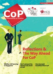 Issue 3, Reflections and The Way Ahead for CoP - Human Capital ...
