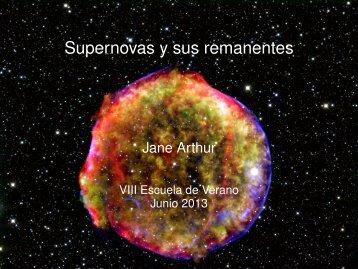 Supernovas y sus remanentes