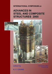 advances in steel and composite structures 2005 - The Hong Kong ...