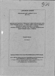 LAPORAN AKHIR - KM Ristek - Kementerian Riset dan Teknologi