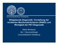 Bildgebende Diagnostik: Vorstellung der revidierten MacDonald ...