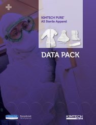 KIMTECH PURE* A5 Sterile Products Data Pack