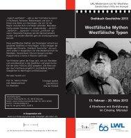 Westfälische Mythen Westfälische Typen - LWL