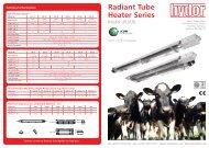 Radiant Tube Heater Series - David R.beech