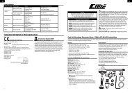 Park 340 Brushless Outrunner Motor, 1700Kv (EFLM1155 ... - E-flite