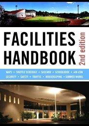 Facilities Handbook - Singapore American School