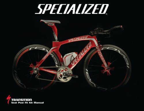 TRANSITION - Specialized Bicycles