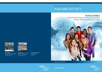 Bachelor Studies -  Saxion University