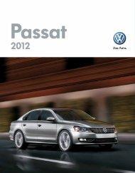[pdf] 2012 Passat Brochure - Volkswagen Canada