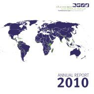 annual report - The Mohamed bin Zayed Species Conservation Fund