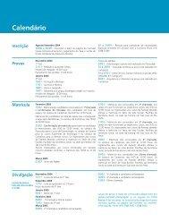 Manual do Vestibular 2005 - Comvest - Unicamp