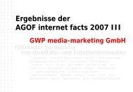 GWP Powerpoint Vorlage - Die Zeit