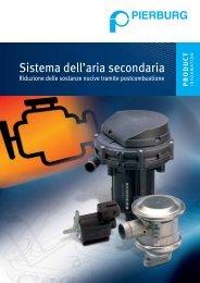 Sistema dell'aria secondaria - Riduzione delle ... - MS Motor Service