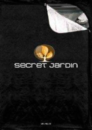 Secret Jardin kweektenten brochure - Kweekotheek.nl