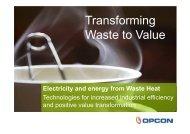 Transforming Waste to Value - Energikontor Sydost