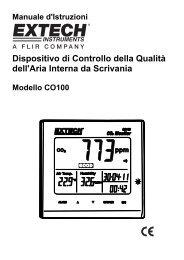 Dispositivo di Controllo della Qualità dell'Aria Interna da Scrivania