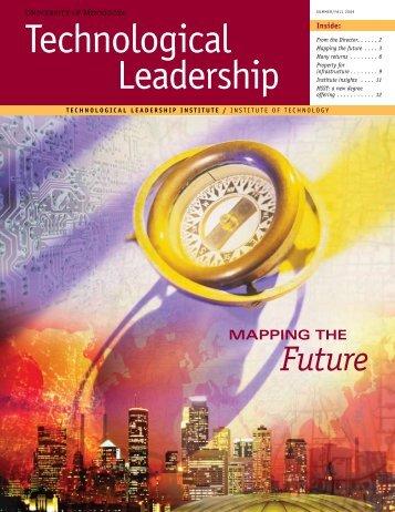 Summer/Fall 2009 - Technological Leadership Institute - University ...