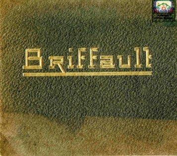1937 BRIFFAUT album chauffage - Ultimheat