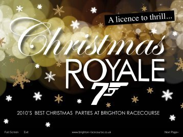 ChristmasA licence to thrill...