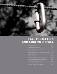 FALL PROTECTION ANd CONFINEd sPACE - Commercial ...