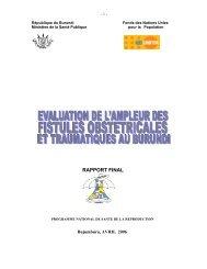 RAPPORT FINAL - Campaign to End Fistula
