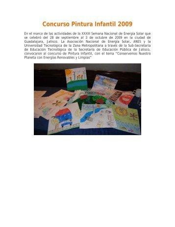 Concurso Pintura Infantil 2009 - Asociación Nacional de Energía Solar