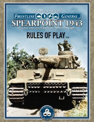 Rules of Play with Scenarios - Collins Epic Wargames