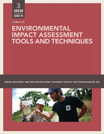 environmental impact assessment tools and techniques