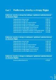 systémy rigips - podkrovia, strechy a stropy (pdf) - Magips