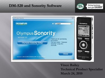 DM-520 and Sonority Software - eDist Marketing