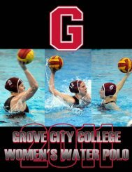2011wwp guide.p65 - Grove City College