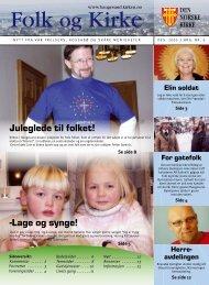 -Lage og synge! Juleglede til folket! - Haugesund Kirke - Den norske ...