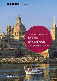 Malta Marathon 2014 - Kuoni Reisen