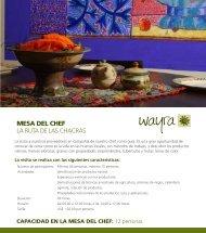 PDF La Mesa del Chef +info - wayra
