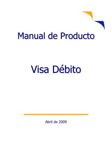 Abril de 2009 - Visa | Internet Services
