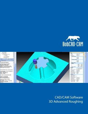 3D Advanced Roughing.ai - BobCAD-CAM