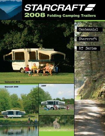 2008 Folding Camping Trailers - Starcraft RV