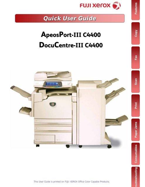 FUJI XEROX APEOSPORT-III C4400 DRIVERS FOR WINDOWS DOWNLOAD
