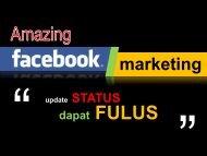 1. Materi AMAZING FB Marketing - Kemahasiswaan UM