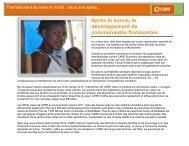 Tremblement de terre en Haïti : deux ans après